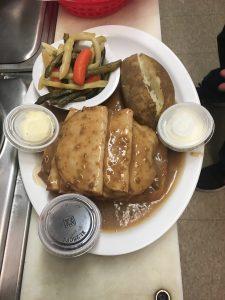 Aunt Sues Chalet Dinner Menu